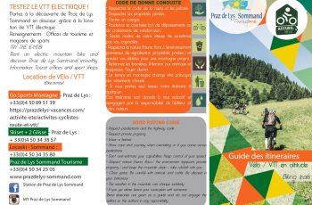 Guide Cyclo Praz de Lys Sommand