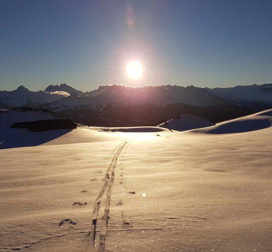 Ski de randonnée Praz de lys Sommand