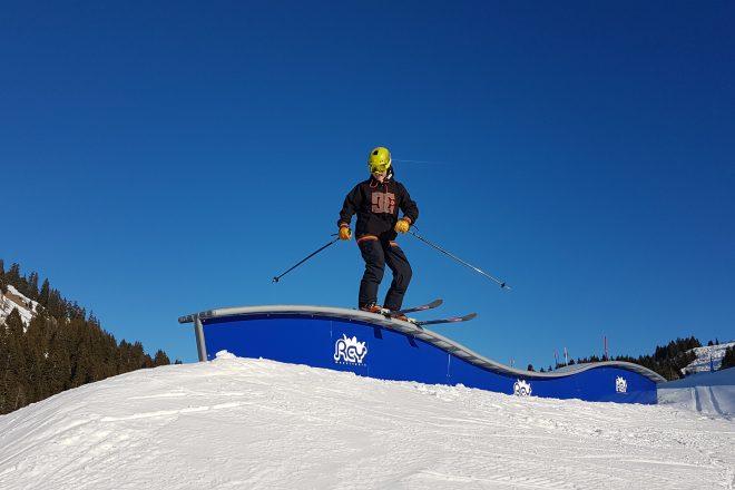 Snowpark - Praz de Lys Sommand